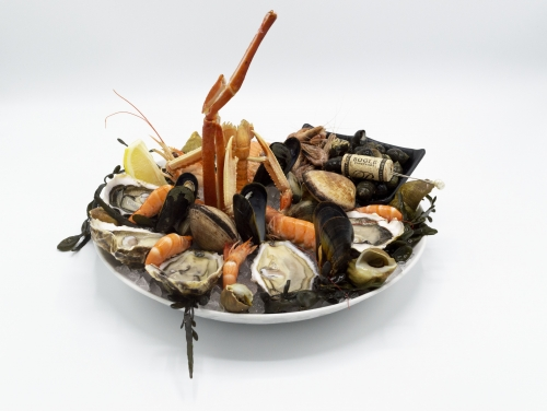 PLATEAU 1 WITH OYSTERS FINE DE CLAIRE
